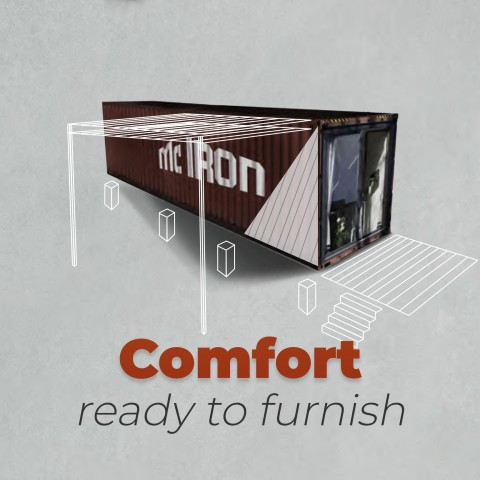 McIron COMFORT Livingcontainer