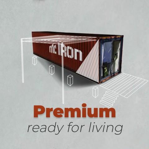 McIron PREMIUM Livingcontainer